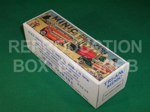 Minic #25M Delivery Lorry - Reproduction Box